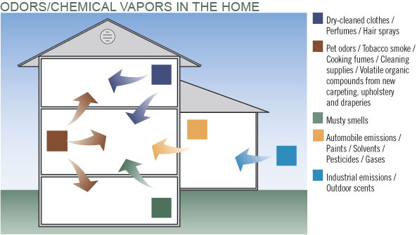 Odors/Chemical Vapors in the Home